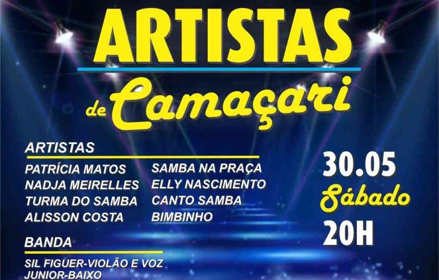 Artistas de Camaçari promovem live solidária neste sábado