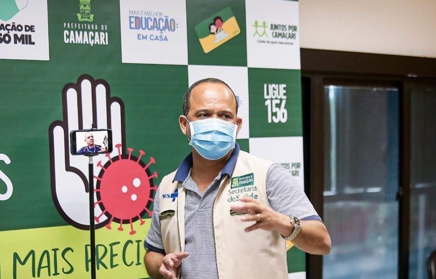 [Elinaldo anuncia novas medidas para tentar conter o avanço do coronavírus em Camaçari]