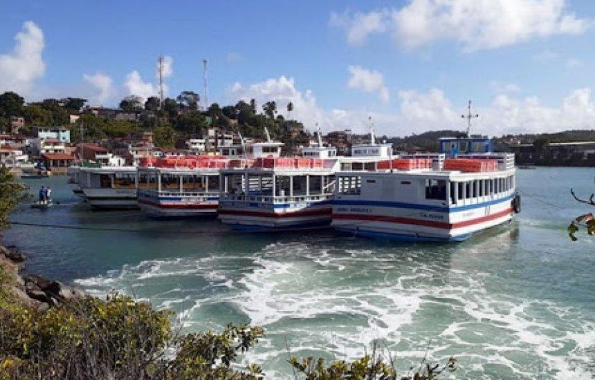 [Travessia Salvador-Mar Grande opera sem restrições e conta com 6 embarcações em tráfego]