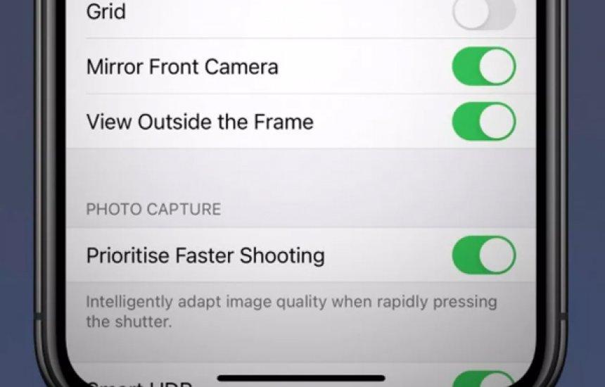 [iPhone deve ganhar função de espelhar selfies com chegada do iOS 14]