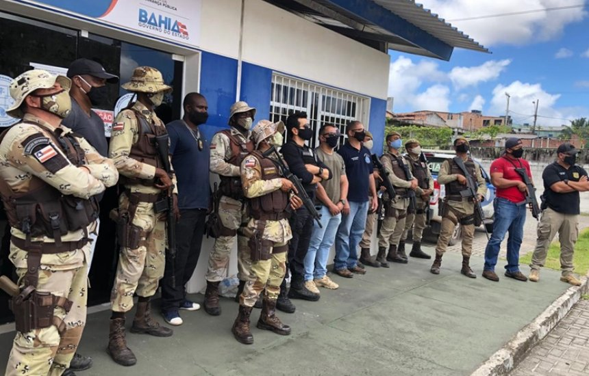 [Camaçari: armas de fabricação caseira são apreendidas em operação entre as polícias Civil e Militar]