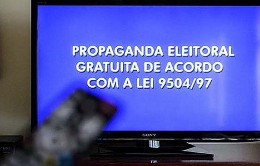 [Horário eleitoral gratuito começa nesta sexta nas cidades que terão 2º turno]