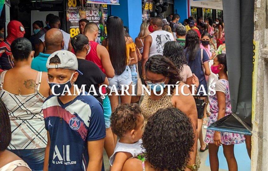 Black Friday: moradores de Camaçari aproveitam dia de ofertas