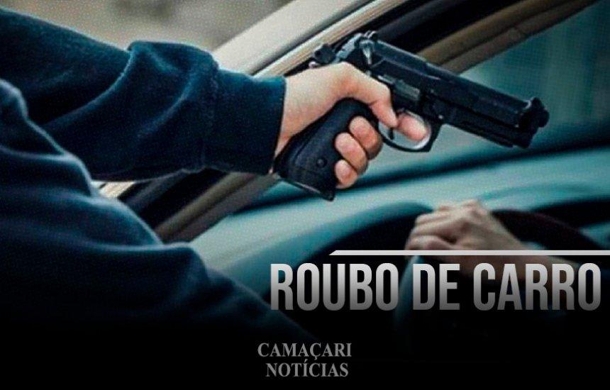 [Veículo é tomado de assalto em Camaçari]