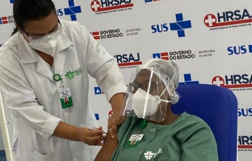 [Número de vacinados contra a Covid-19 na Bahia ultrapassa 75 mil]