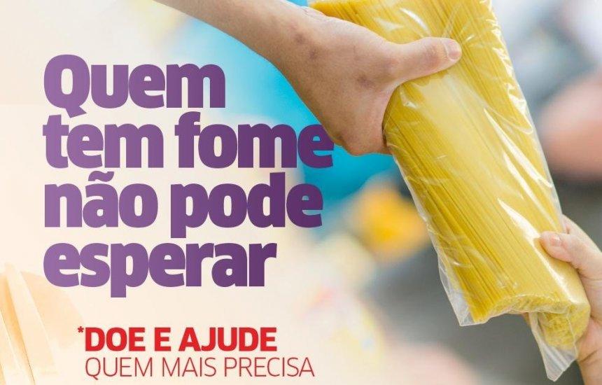 [Banco de Alimentos de Lauro inicia campanha para aumentar a doação de itens alimentícios]