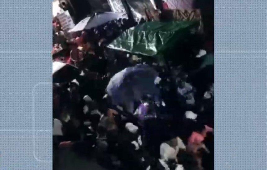 [Festa 'paredão' com cerca de 700 pessoas é interrompida pela PM em Marechal Rondon]