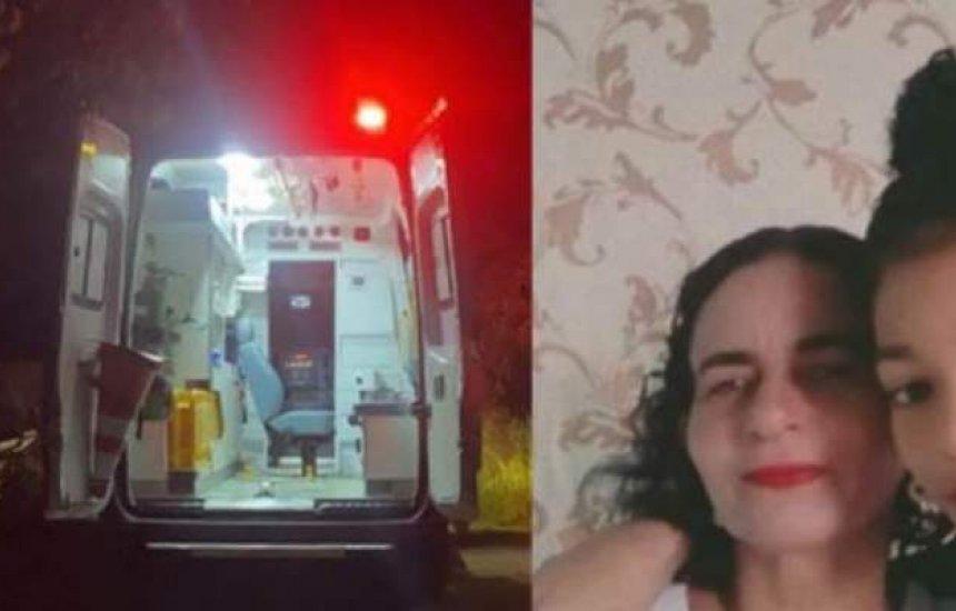 [Mãe e filha são mortas a facadas dentro de casa em Aporá]