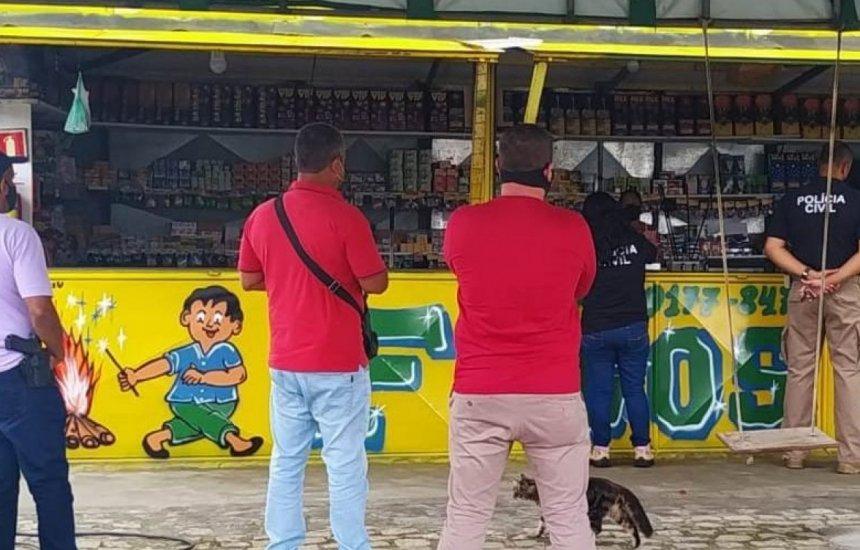 [Operação 'Em Chamas' fiscaliza a venda de fogos de artifício na Bahia]