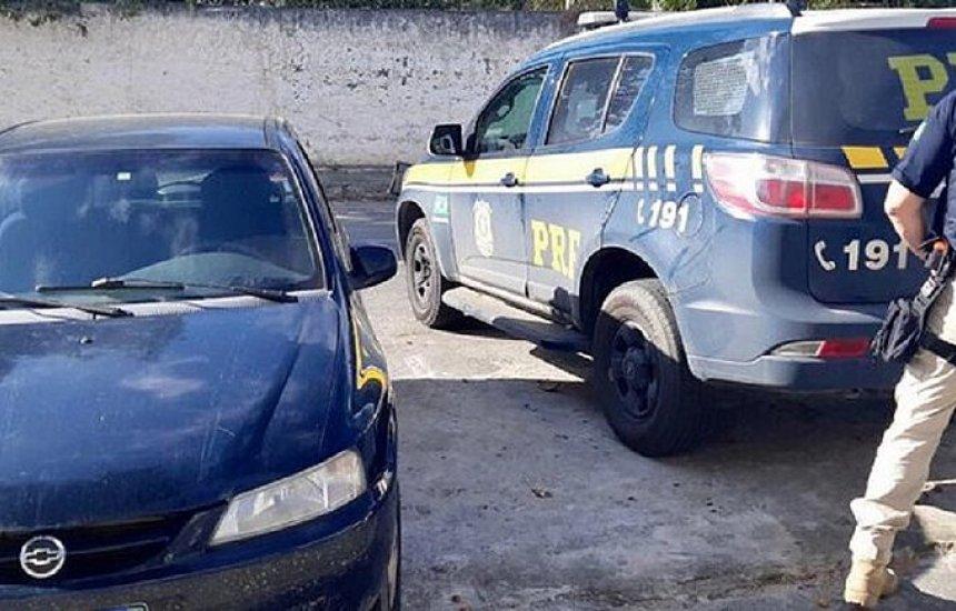 [Acusado de homicídio no Espírito Santo é preso na Bahia com carro roubado]
