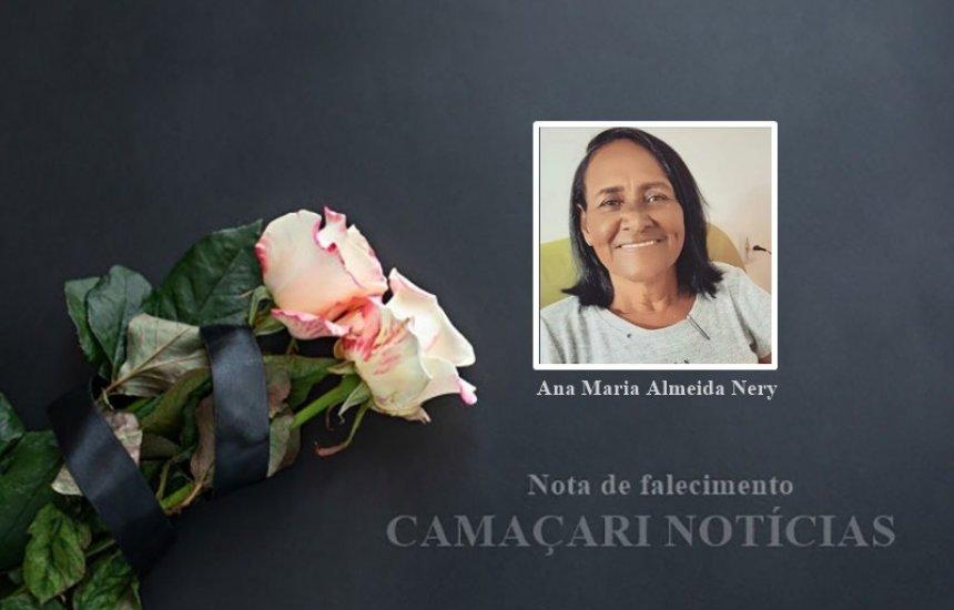 [Familiares dão o último adeus a professora Ana Maria Almeida Nery]