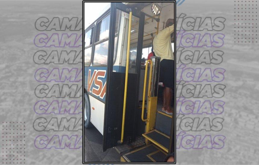[Ônibus intermunicipal quebra e passageiros pegam transporte por app para seguir viagem]