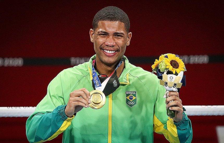 [Campeão olímpico, baiano Hebert Conceição tem proposta para ser boxeador profissional]