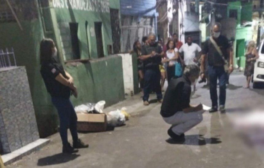 [Sobe número de vítimas de ataque armado na Capelinha de São Caetano, em Salvador]