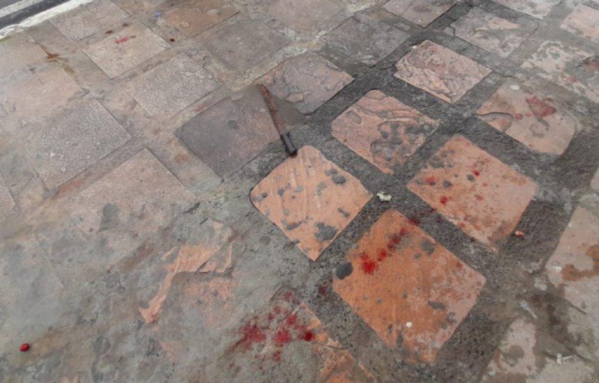 [Ataque com facão deixa cinco feridos em Mar Grande, na Bahia]