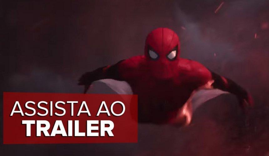 [Homem-Aranha: Longe de Casa | Teaser Trailer Dublado]